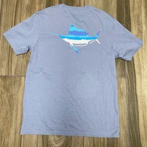 Vineyard Vines SAILFISH WHALE LINE pocket t-shirt